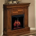 Phoenix 23'' Burnished Walnut Electric Fireplace Corner