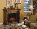Augusta Antique Oak Classic Flame